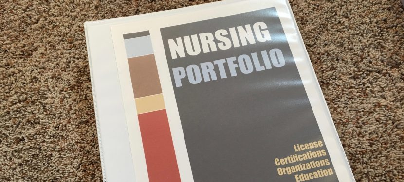 Nursing Portfolio: Keep Nursing CE/CEU, Memberships & Licensure Organized!