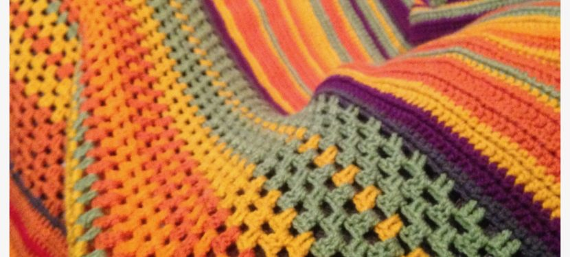 Daily Challenge: 2017 Crochet Temperature Blanket
