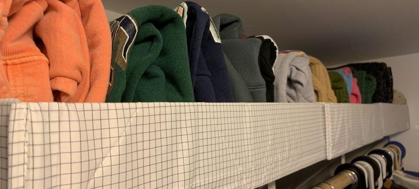KonMari Adventure: Tackling My Closet